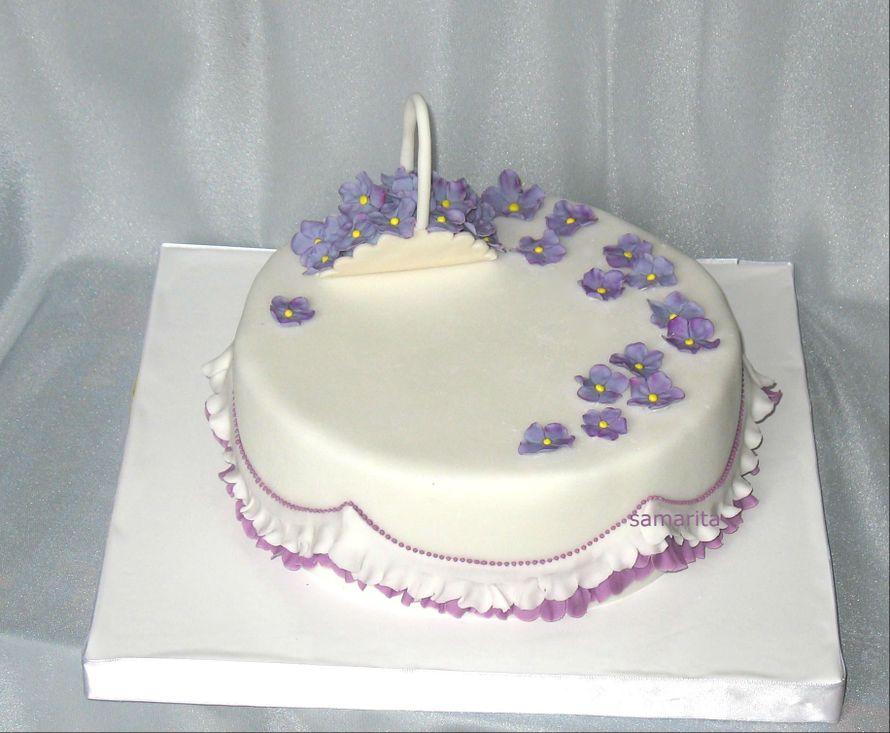Свадебный торт своими руками с мастики