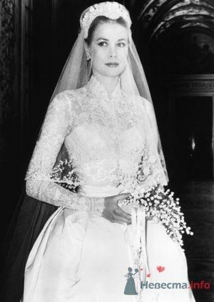 свадебное платье принцессы Монако