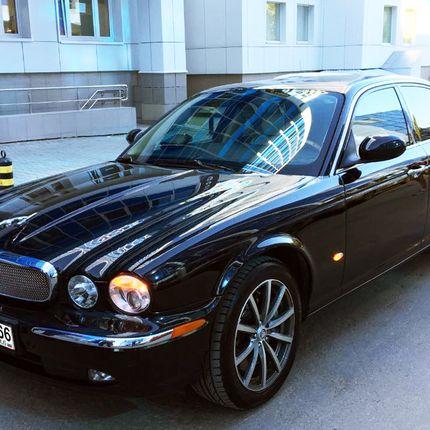 Аренда Jaguar XJR, 1 час