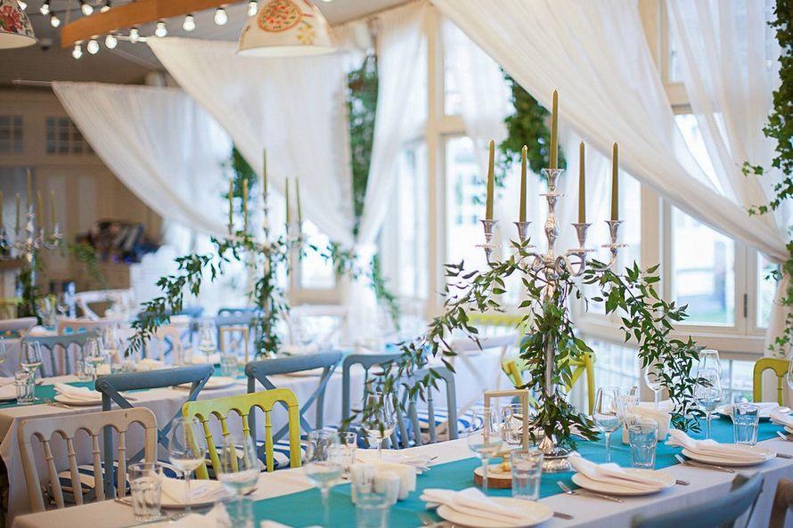 Фото 17087448 в коллекции Свадьба в ресторане Пряности и Радости - Студия декора и флористики DecorALL