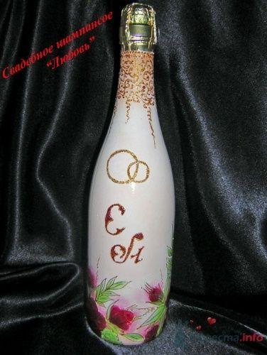"""Фото 2263 в коллекции Свадебное шампанское - """"Свадебные бокалы"""" - аксессуары ручной работы"""