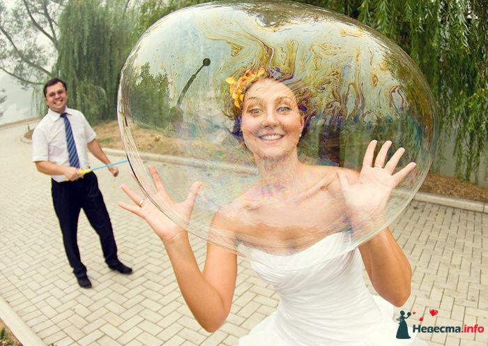 Невеста, мыльные пузыри - фото 141825 Фотограф Владимир Будков