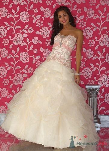 Свадебное платье Quinceanera Q947 - фото 2714  Weddingprof - роскошные свадебные платья