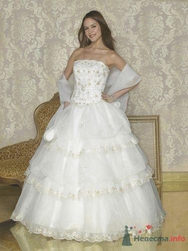Свадебное платье Quinceanera Q964 - фото 2717  Weddingprof - роскошные свадебные платья