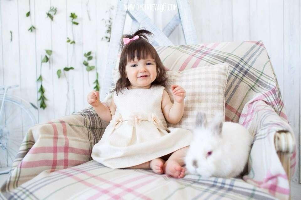 Недавняя фотосессия с кроликами екатеринбург