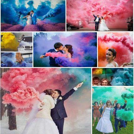 Цветной дым для фотосессии, цена за 1 шт