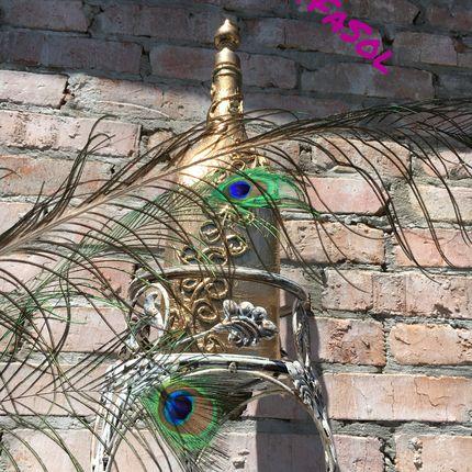 Венецианская флористическая подставка, бутыль декоративная