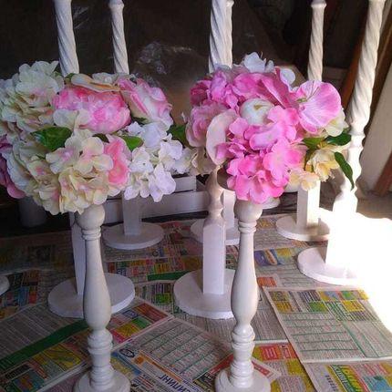 Стойки для цветочных композиций