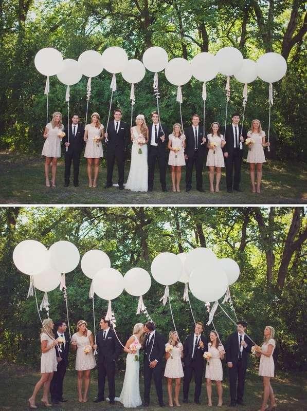 Фото 17357136 в коллекции Декор для свадьбы, девичника, фотосессии и др. - Pink Sky Balloons