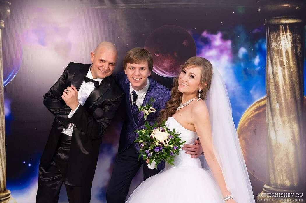 Фото 17363956 в коллекции Космическая свадьба - Ведущий Саша Апельсин
