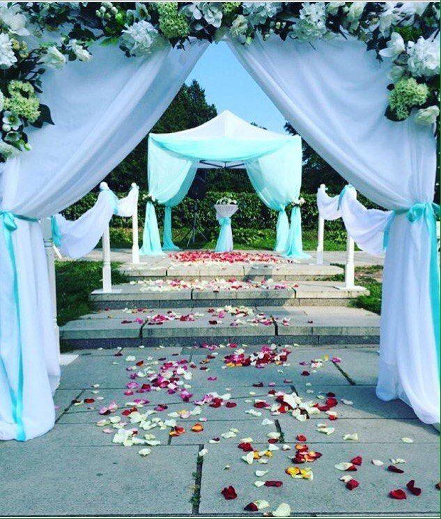 Фото 17430760 в коллекции Выездная регистрация брака - Beautiful Day ВН - аренда шатров и оформление