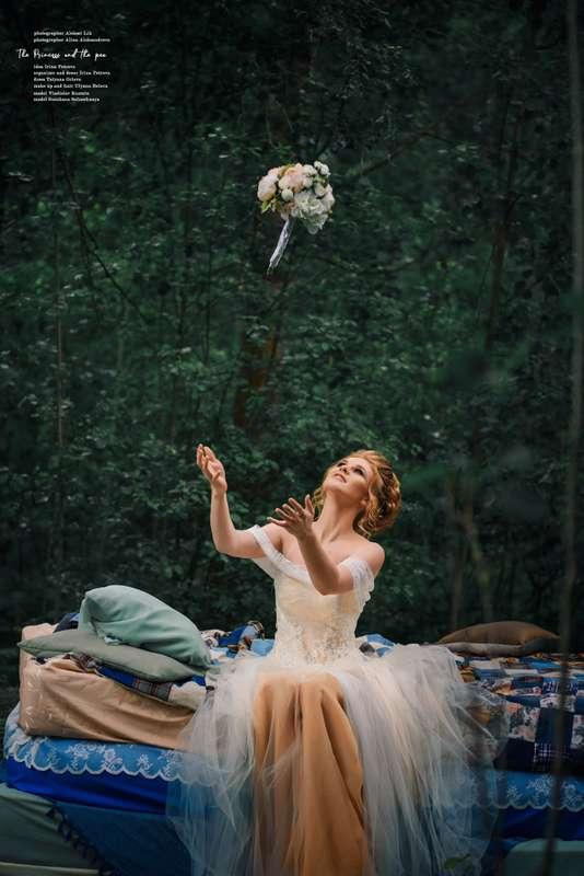 """декор свадебной фотосессии """"Принцесса на горошине"""" - фото 17723912 Beautiful Day ВН - аренда шатров и оформление"""