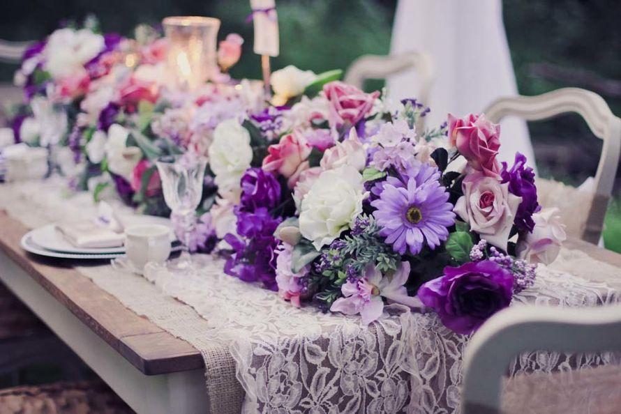 пример оформления violetшик - фото 17435068 G-holding - свадебное агентство