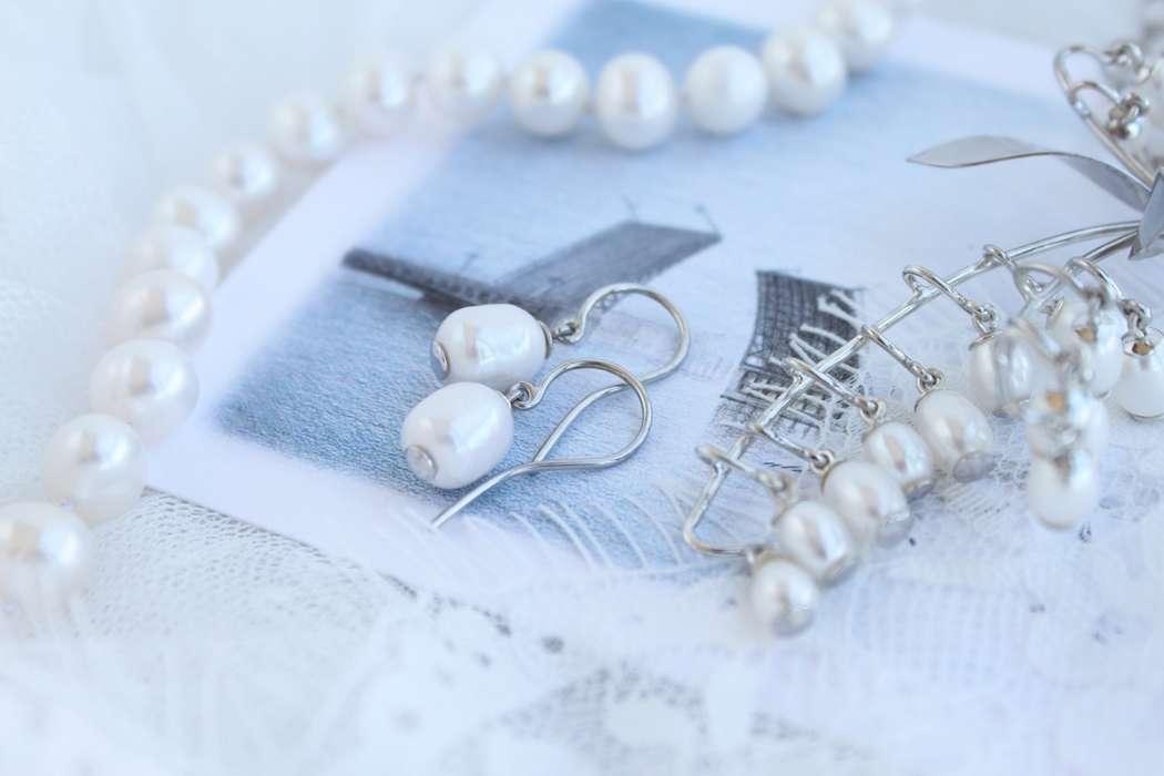 Фото 17469292 в коллекции Ювелирные украшения из серебра - Mellnikova - свадебные аксессуары