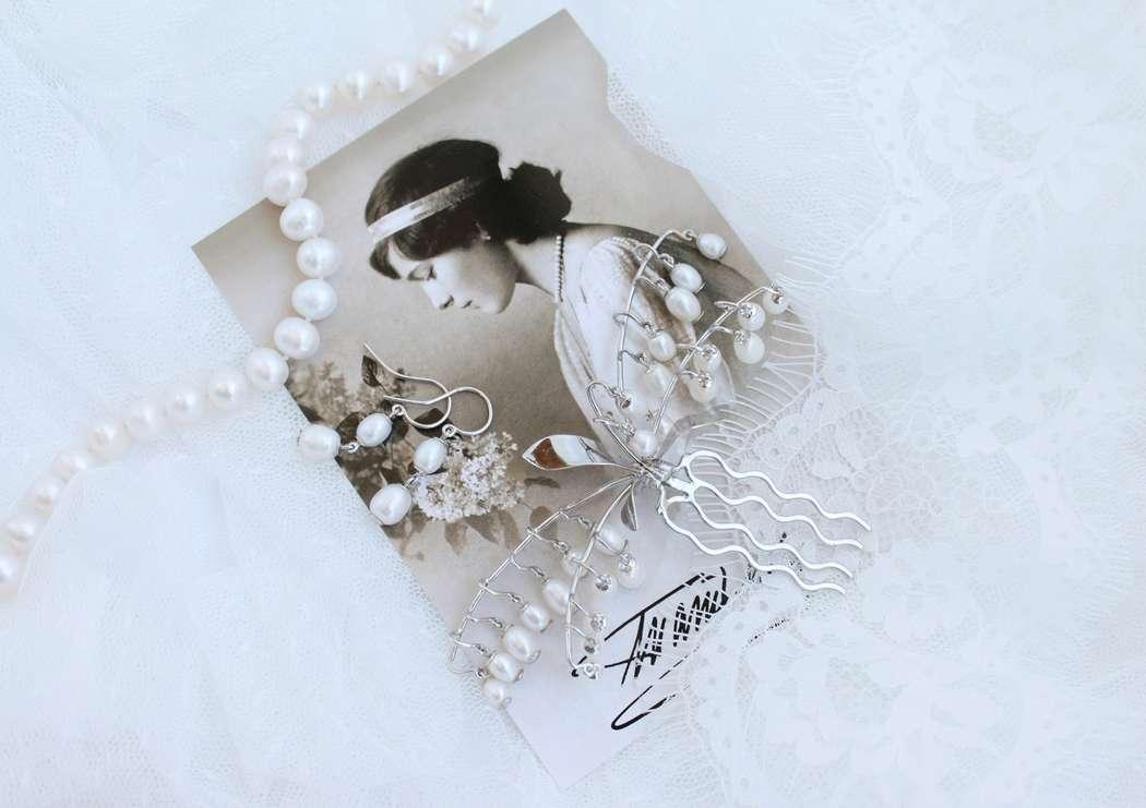 Фото 17469766 в коллекции Ювелирные украшения из серебра - Mellnikova - свадебные аксессуары
