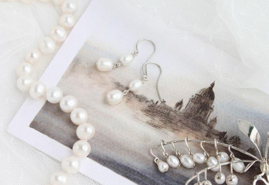 Фото 17469770 в коллекции Ювелирные украшения из серебра - Mellnikova - свадебные аксессуары