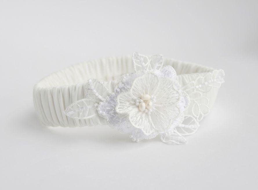Фото 17469814 в коллекции Подвязки невесты - Mellnikova - свадебные аксессуары