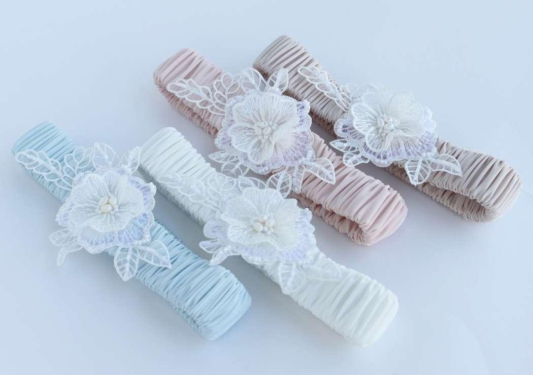 Фото 17469818 в коллекции Подвязки невесты - Mellnikova - свадебные аксессуары
