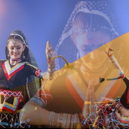 """Индийский танец """"Калбелия"""""""