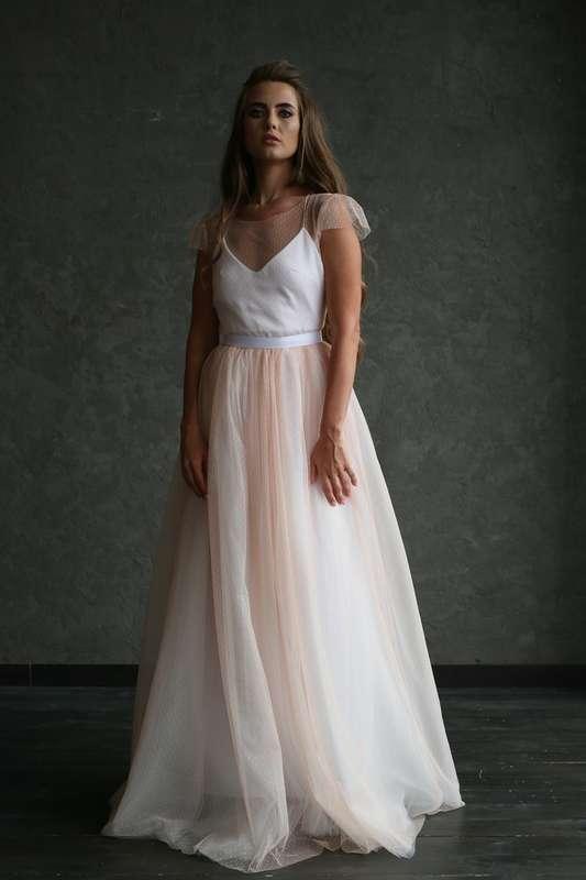 """Платье """"Персиковая Фея"""", цвет: айвори - персик. - фото 17521114 Свадебный салон """"Angel's brides"""""""