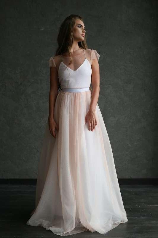 """Платье """"Персиковая Фея"""", цвет: айвори - персик. - фото 17521120 Свадебный салон """"Angel's brides"""""""