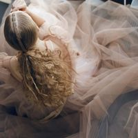 "Платье ""Шоколадный Мусс"", цвет: айвори - молочный шоколад."