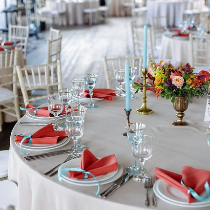 Композиция на столы гостей, цена за 1 шт