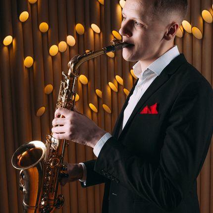 Эксклюзивное выступление саксофониста