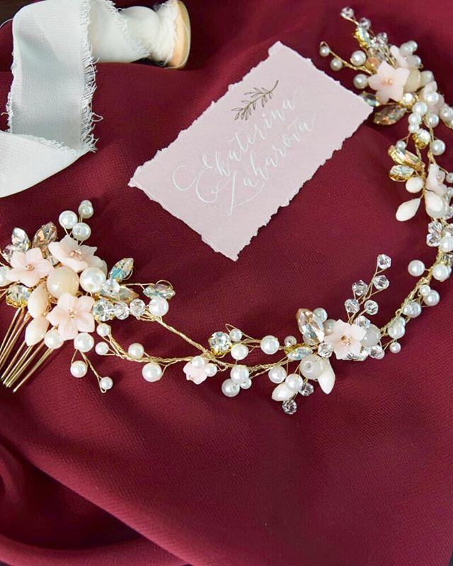 Свадебный веночек - фото 17548948 Екатерина Захарова - украшения для волос