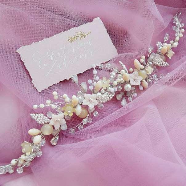 Свадебный веночек 2000 руб. - фото 17549078 Екатерина Захарова - украшения для волос