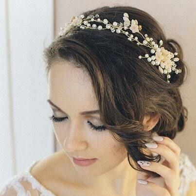 Украшение для невесты в волосы. Стоимость 3500 руб. - фото 17549104 Екатерина Захарова - украшения для волос