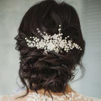 Свадебная веточка с цветочками. Стомость 1500 руб.