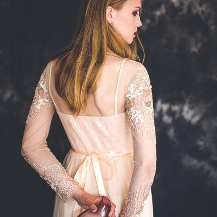 Платье Деметра с ручной вышивкой