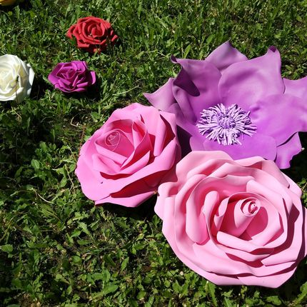 Большие цветы в аренду