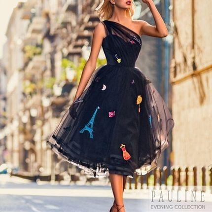 Платье Париж, размер 44- 46