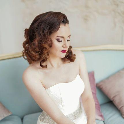 Прическа и макияж невесты без репетиции