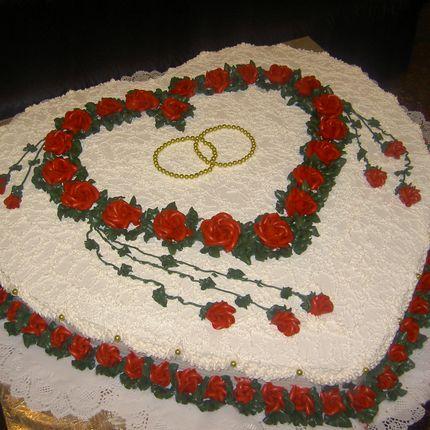 """Торт """"Сердце влюбленных"""""""