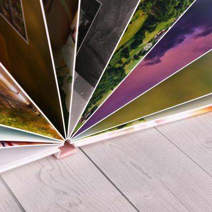 Изготовление фотокниги Премиум - твердые картонные листы
