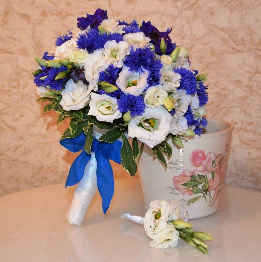 """Фото 17607660 в коллекции Букет невесты с васильками. - Студия флористики """"Вокруг цветов"""""""