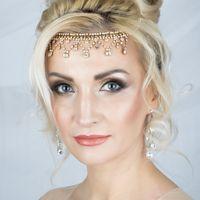 Причёска + макияж невесты (образ)