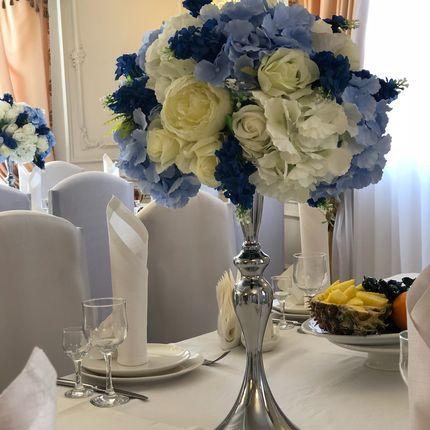 Композиции на столы гостей в аренду
