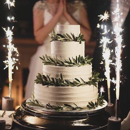 Свадебный торт без мастики, цена за 1 кг