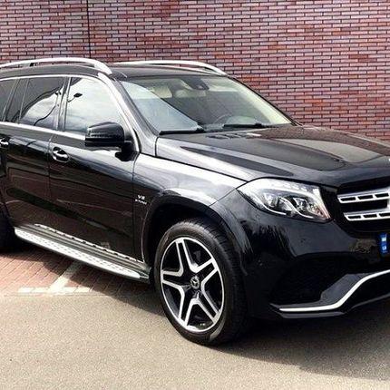 374 Внедорожник Mercedes GLS черный 2018 в аренду