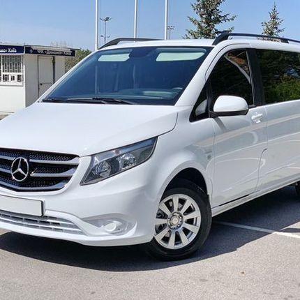 096 Микроавтобус Mercedes V класс 2018 год белый