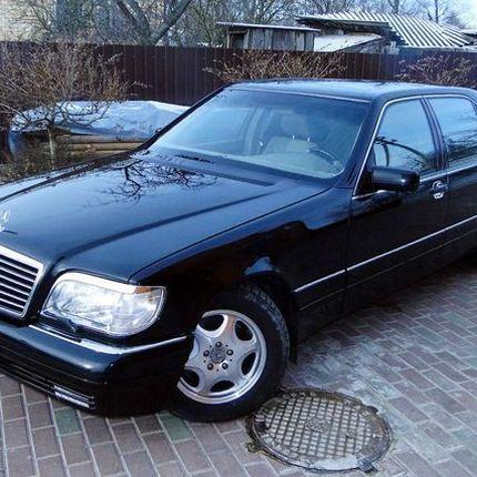 173 Mercedes W140 S600 прокат, 1 час