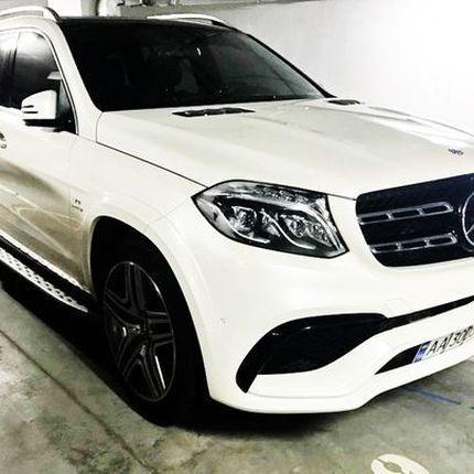 362 Аренда внедорожника Mercedes GLS белый