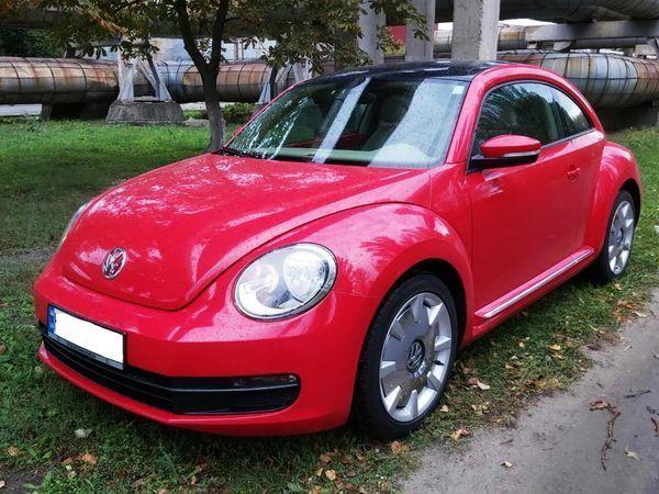 234 Volkswagen New Beetle красный в аренду, 1 час