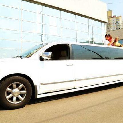 026 Лимузин Infiniti QX56 белая прокат аренда