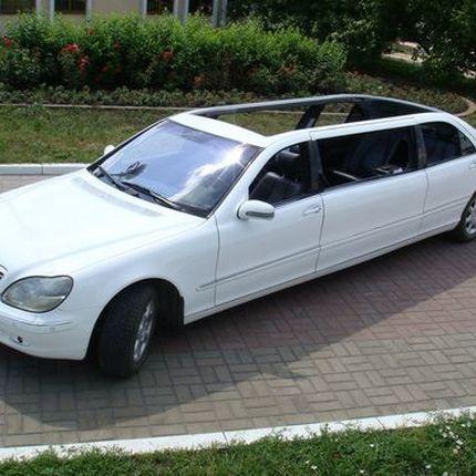 056 Кабриолет лимузин Mercedes 220 S 600 cabrio