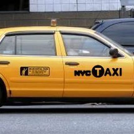 162 Ford Crown Victoria New York city taxi в аренду
